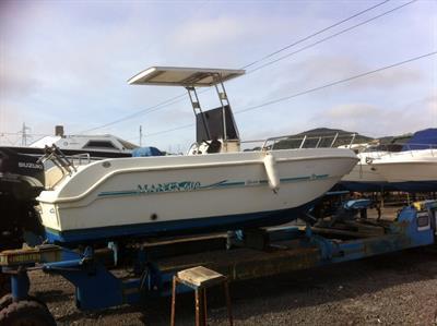 Barca Saver 600 con motore Suzuki 140 Four